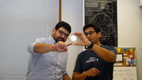 Munir Tanas and Keith Garcia