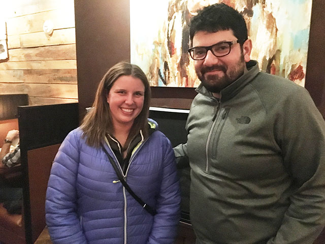 Nicole Merritt and Dr. Tanas
